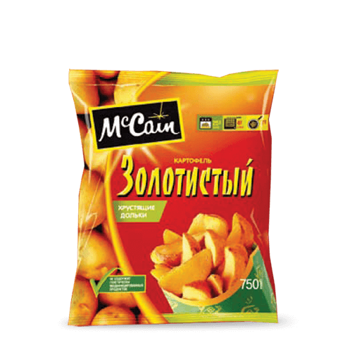"«McCain TM ""Golden"" Crispy French Fries» Frozen & chilled products"