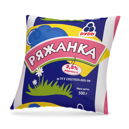 «Ryazhanka 2.5%» Dairy products