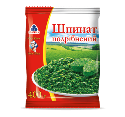 «CHOPPED SPINACH» Frozen & chilled products