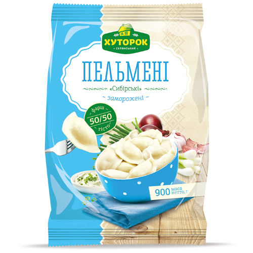 «Siberian Meat Pockets» Frozen ready-to-cook food