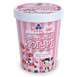 "«""Frozen Yoghurt with Wild Berries""»"