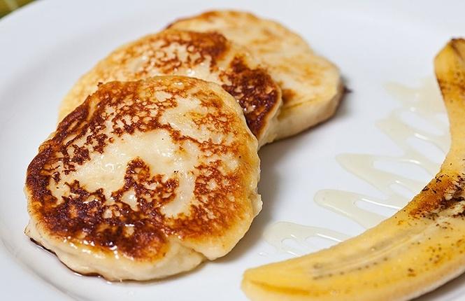Сырники с бананом рецепт пошаговый с фото