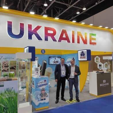 Rud at the Exhibition in Dubai