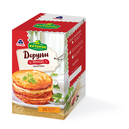 «Potato pancakes» Products