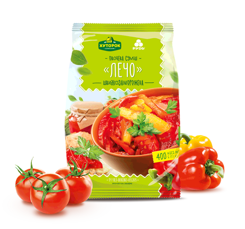 "«""LESCO"" VEGETABLE MIX» Frozen & chilled products"