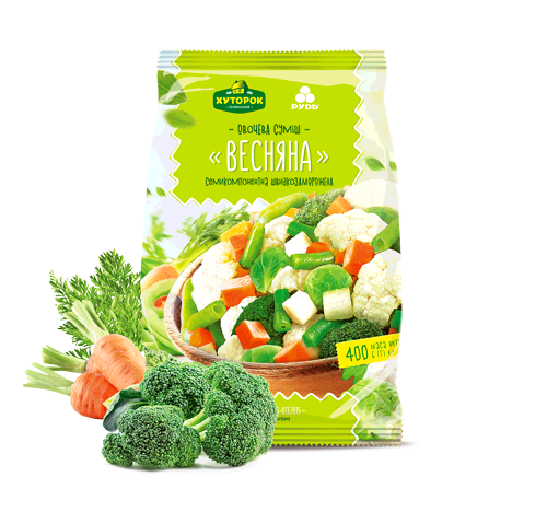 "«""THE SPRING"" VEGETABLE MIX» Frozen & chilled products"