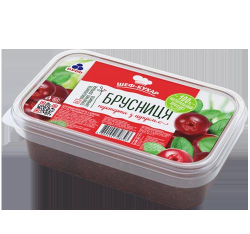 Заморожені продукти «Заморожена брусниця»