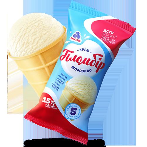 Морозиво «Крем-пломбір»