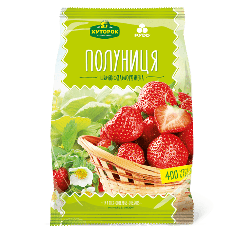 «Strawberries» Frozen & chilled products