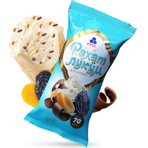 «Rahat-lokum (Turkish delight)» Ice Cream
