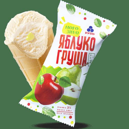 Морозиво ««Яблуко-груша»»