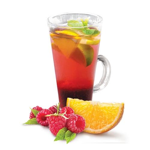 Заморожений чай «Малина-апельсин»