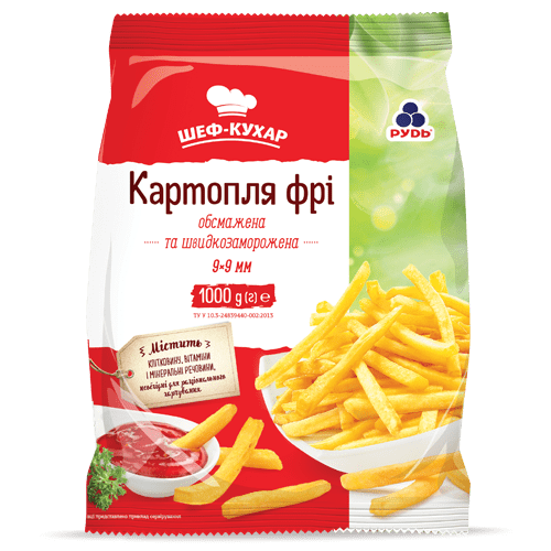 «French fries» Frozen & chilled products