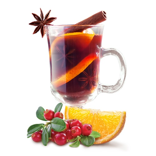 Заморожений чай «Журавлина-апельсин»