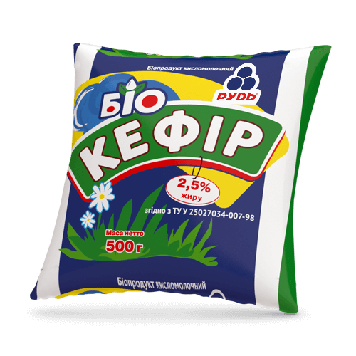 «Bio-Kefir 2.5%» Dairy products