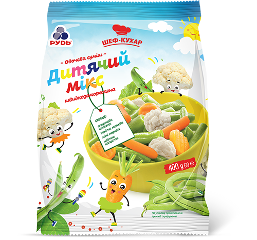"«""Children's Vegetable Mix""» Frozen & chilled products"