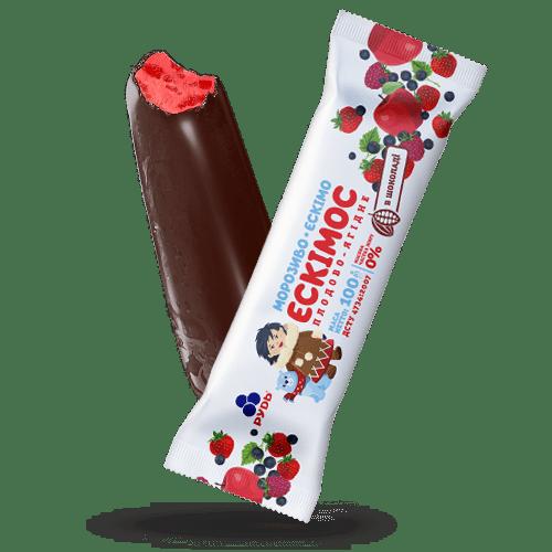 ««THE ESKIMOS» – FRUIT & BERRY FLAVORED» Ice Cream