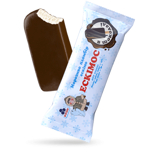 ««Eskimos in chocolate»» Ice Cream