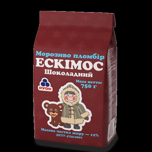 """«""""The Eskimos"""" Premium Chocolate Plombir Ice Cream» Ice Cream"""