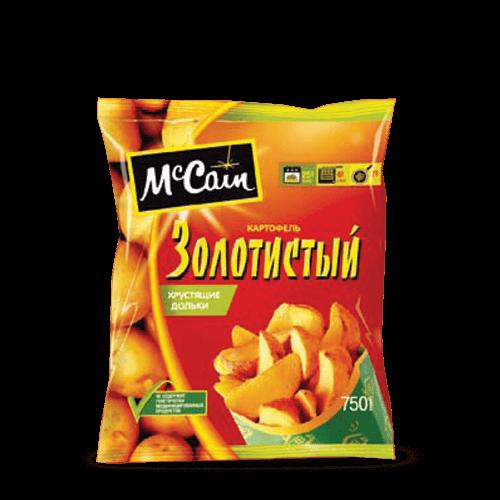Заморожені продукти «Картопля фрі «Золотиста» хрусткі дольки, ТМ«McCain»»