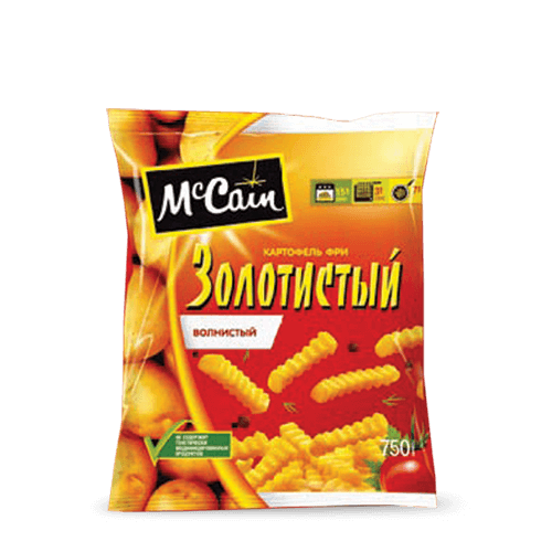 "«McCain TM ""Golden"" Crinkle French Fries» Frozen & chilled products"