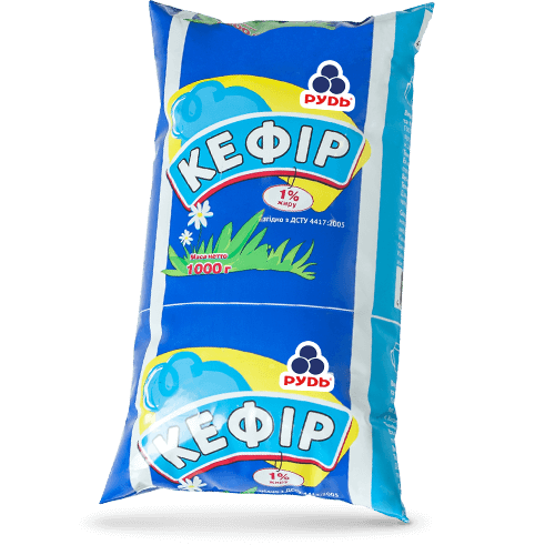 Молочная продукция «Кефир 1%»