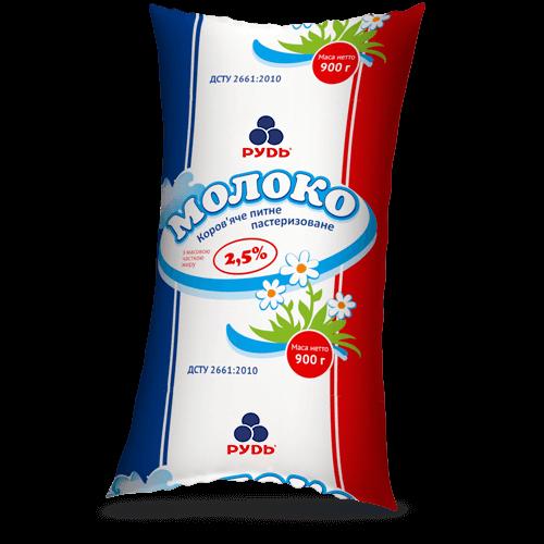 Молочная продукция «Молоко 2,5%»