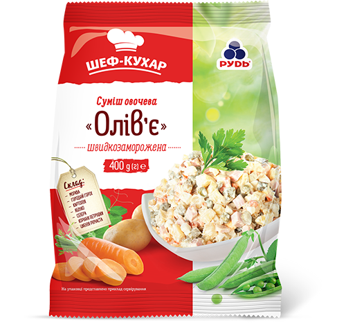 "«""Olivier"" Vegetable Mix» Frozen & chilled products"