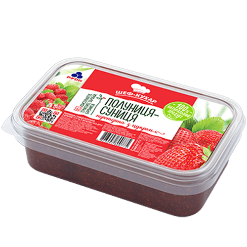 «Strawberry Mix» Frozen & chilled products