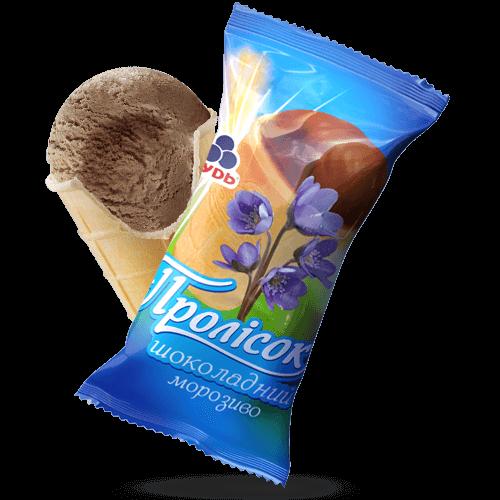 Мороженое ««Подснежник» шоколадный»