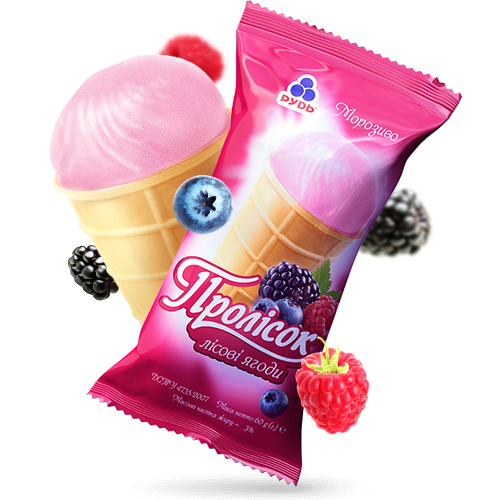 "«""Prolisok"" WILD BERRIES» Ice Cream"