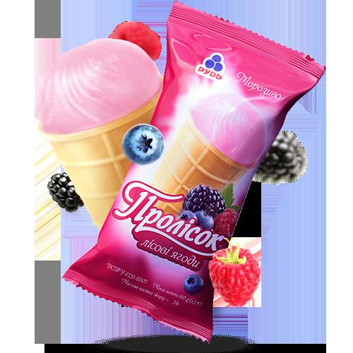 Морозиво ««Пролісок» Лісові ягоди»