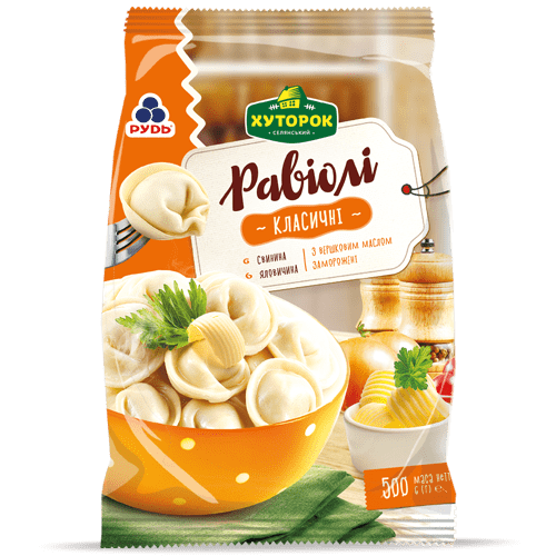 «Classic Ravioli with Dairy Cream Butter» Products
