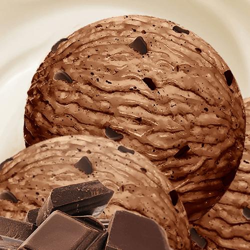 М'яке морозиво пломбір «Шоколадне»