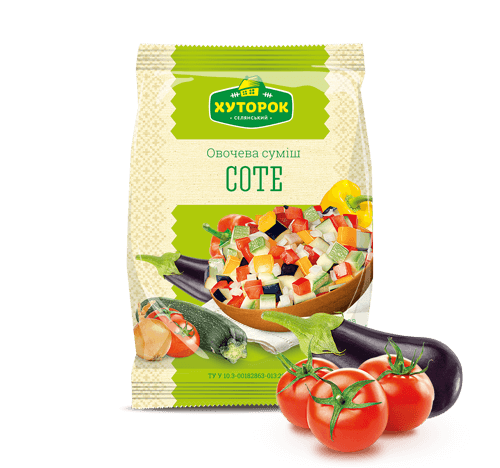 "«""SAUTE"" VEGETABLE MIX» Frozen & chilled products"