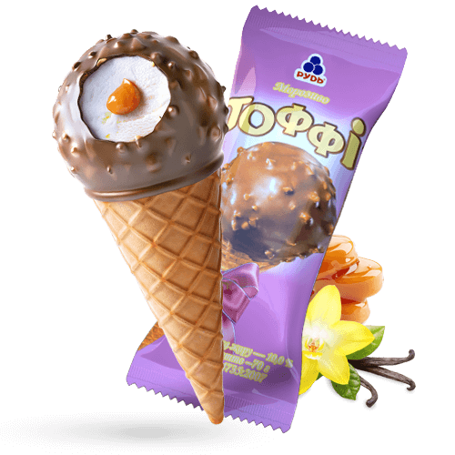 ««Toffee»» Ice Cream