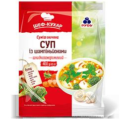 «Суміш овочева «Суп з грибами»»