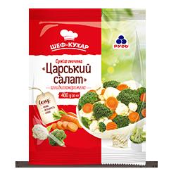 Замороженная овощная смесь «Царский салат» ТМ «Рудь»