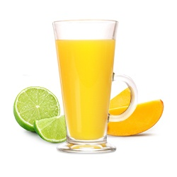 Заморожений чай «Манго-лайм»