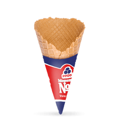 "Waffle Cone, 125 mm, 23"" (with jacket) HoReCa"