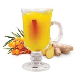Замороженный чай «Облепиха-имбирь»