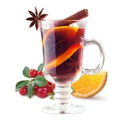 Замороженный чай «Клюква-апельсин»