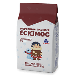 "«""The Eskimos"" Premium Chocolate Plombir Ice Cream»"