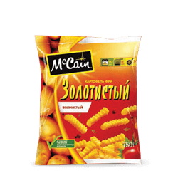 "«McCain TM ""Golden"" Crinkle French Fries»"