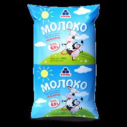 Молоко знежирене 0,9%, 900 г