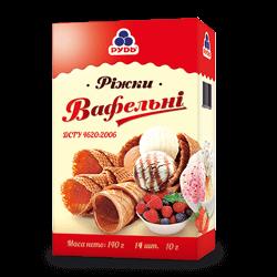 Вафельних ріжки для вагового морозива