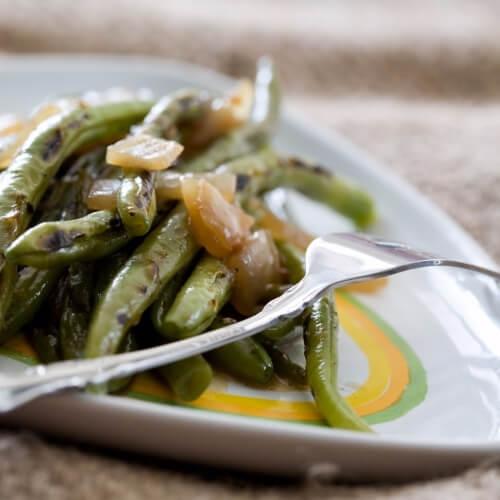 Рецепт вкусного салата из замороженной стручковой фасоли
