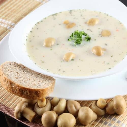 Рецепт грибного супа из шампиньонов