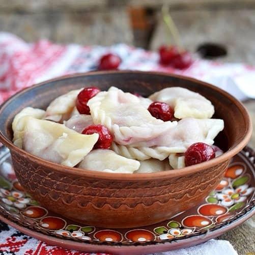 рецепти вареників на кефірі