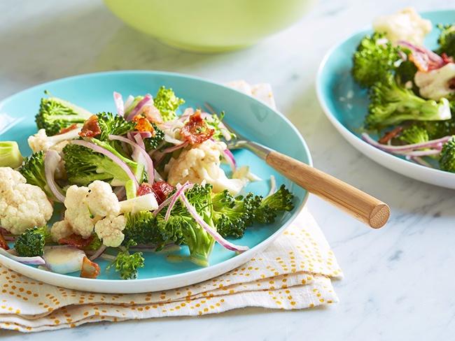 цветная капуста брокколи салат